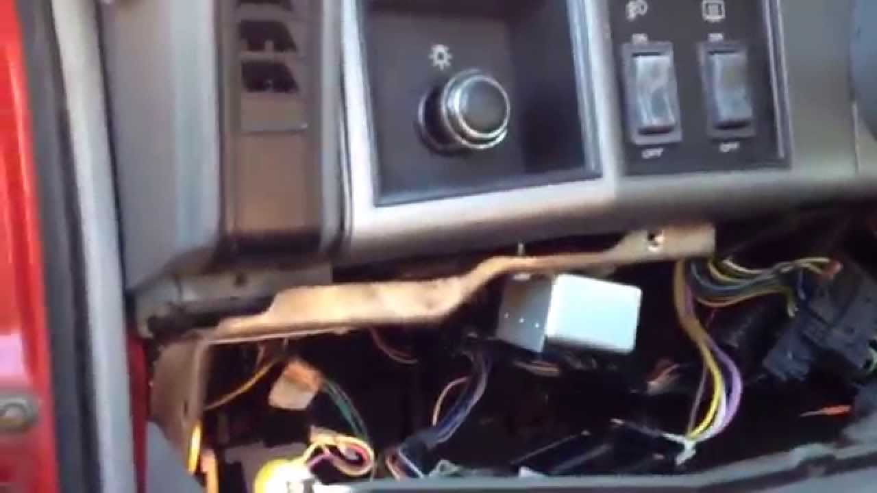 jeep cherokee xj - hid headlight delay fix