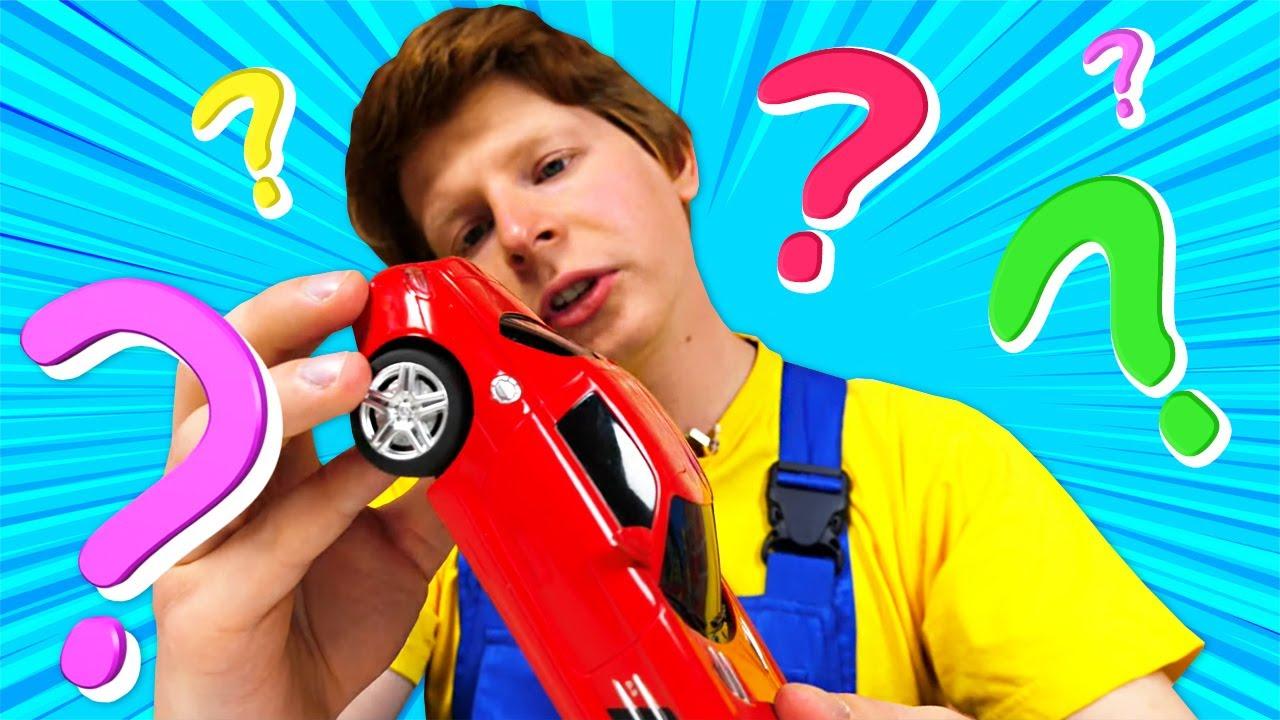 Сломалась детская машинка мерседес. Крутые видео для мальчиков про автомастерскую