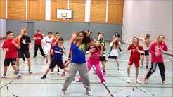 ZumbAtomic - zu Besuch in der 6F der Sophie-Scholl Gesamtschule Remscheid