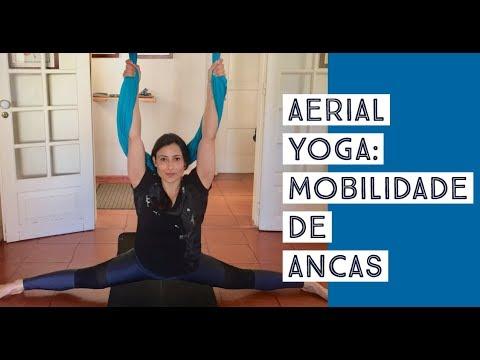 Aerial Yoga: Mobilidade de Ancas
