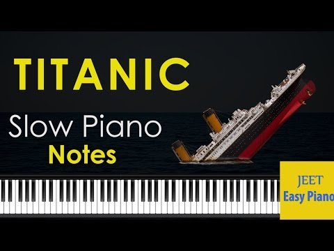 Easy Piano songs for beginners slow /My Heart will go on/Titanic