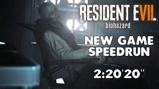 """Resident Evil 7 - Any% Speedrun - 02:22'20"""" [Former World Record]"""