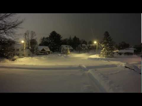 Winter Storm Stella Time Lapse Start To Finish