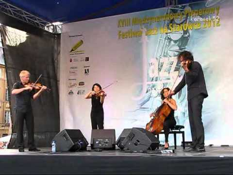 Radio.String.Quartet.Vienna. live - XVIII Festiwal Jazz na Starówce 2012 (1/3)