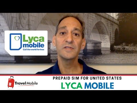 Lycamobile (T-Mobile)| Prepaid SIM Card For USA | TRAVEL MOBILE - English