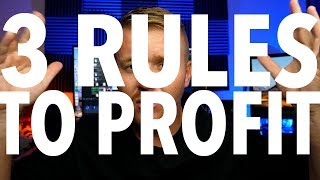 DAY TRADING 3 RULES TO PROFIT! FOLLOW THESE!