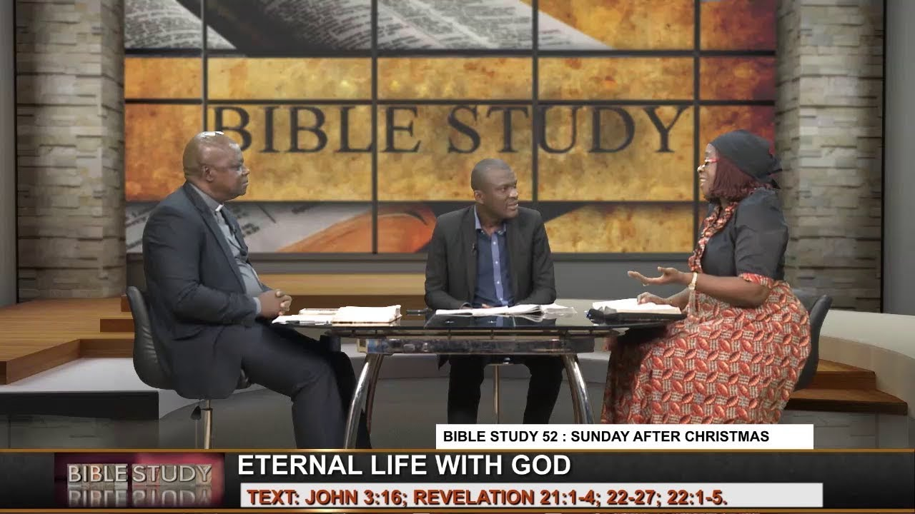CoN Bible Study 52 : DECEMBER 30, 2018 [ ETERNAL LIFE WITH