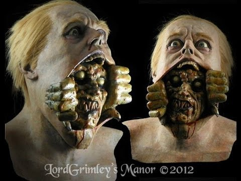 creep out sinister halloween latex horror mask