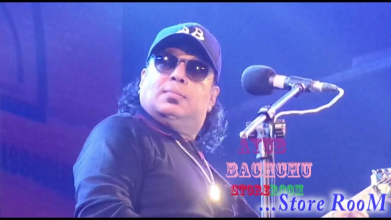 Ekhon onek raat | ayub bachchu | bangladeshi rock band lrb youtube.