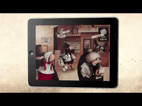 Die große Wörterfabrik - Bilderbuch-App für iOS und Android (HD Trailer, mixtvision Digital)