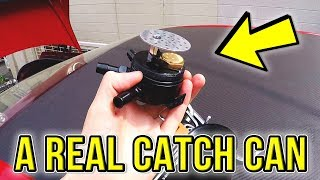 INSTALLING AN OIL CATCH CAN ON A R33 SKYLINE