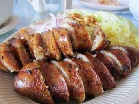 Issan Sausage is delicious if you get the right one.
