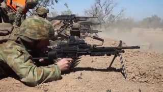 U.S. Marines in Australia!  Live-Fire Exercise - Exercise Koolendong 13!