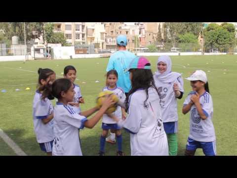 Soccer Camp Lebanon 2016 -  Last week training in Beirut