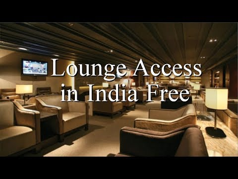 Airport lounge free access
