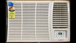 Voltas 1 5 ton 3 Star window ac review in hindi Model DZA183