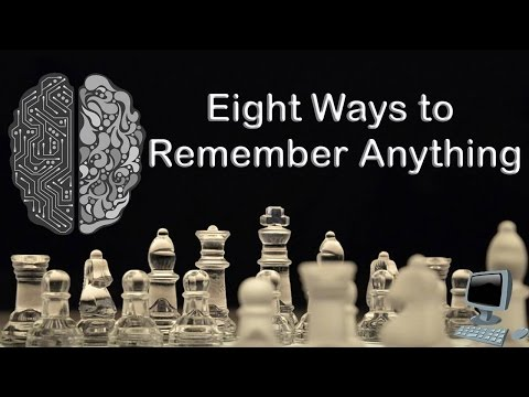Eight Ways to Remember Anything || Learning Code