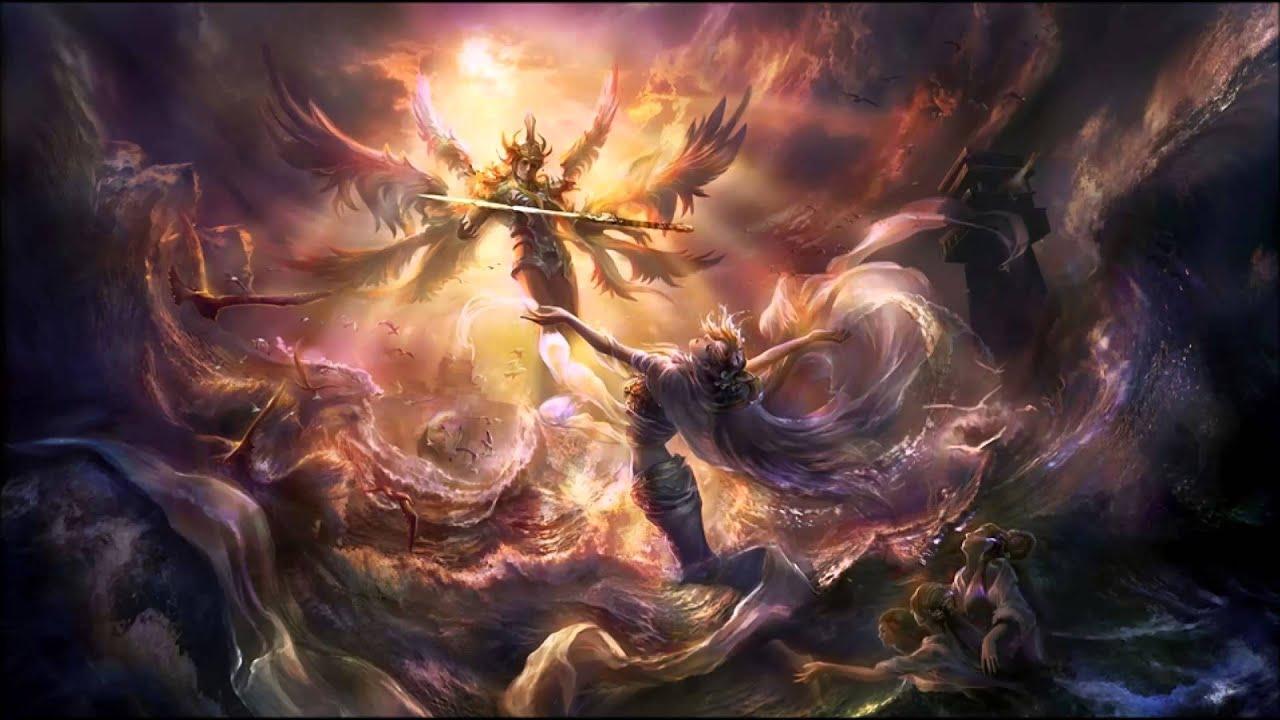 Anime Fallen Angel Wallpaper
