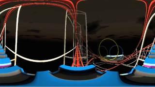 roller coaster 360 virtual reality