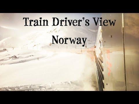 Train Driver's View: Winter Wonderland on the Bergen Line