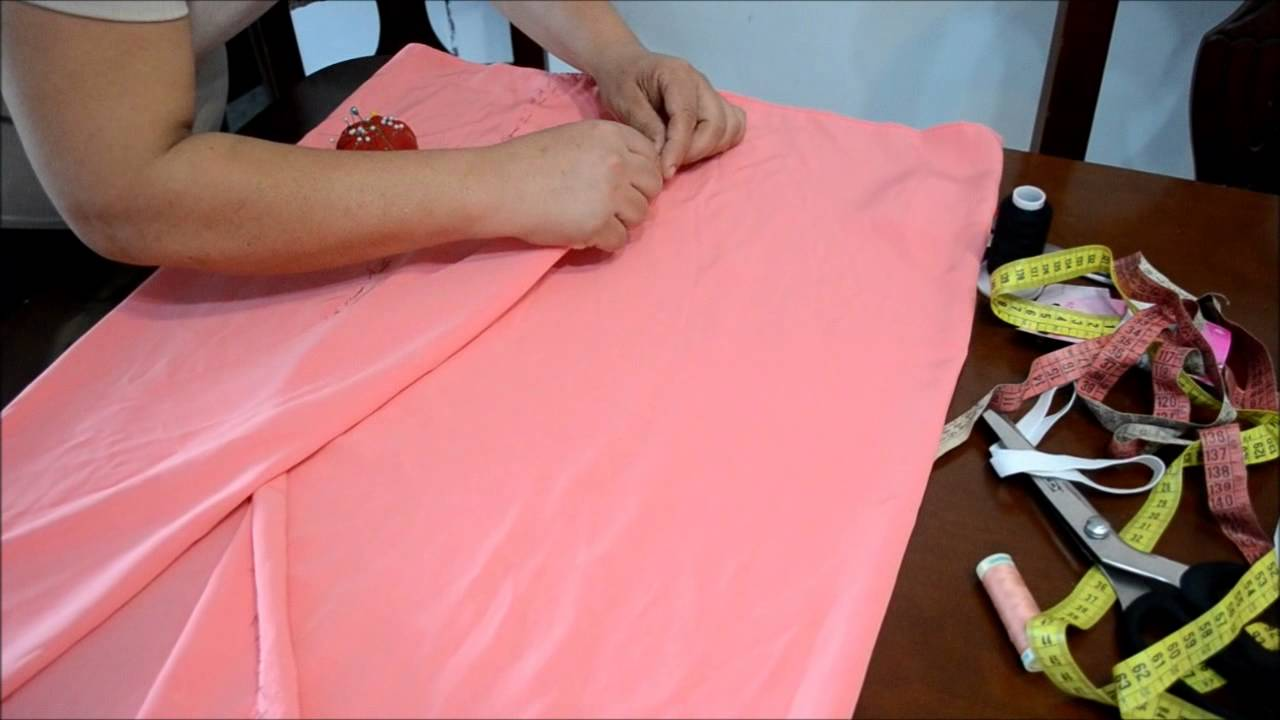 DIY MAXI FALDA - YouTube