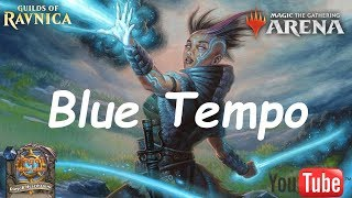 Magic Arena MTGA: Mono Blue Tempo Deck #3 - Guilds of Ravnica - Standard Contructed