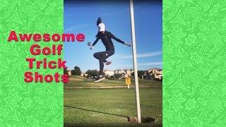 Golf Trick Shots | Amazing Golf Shots | Amateurs