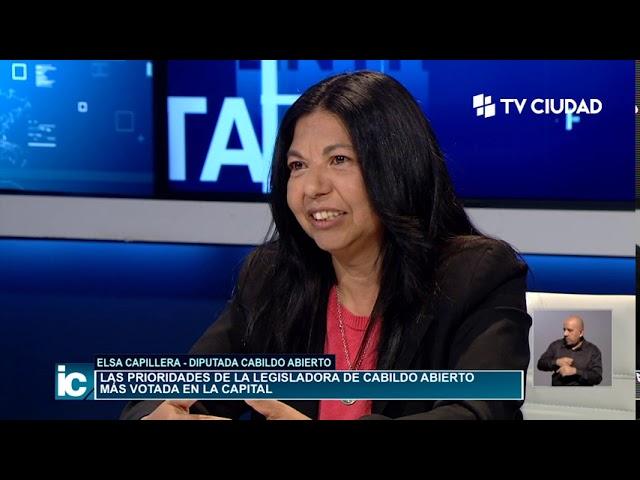 Informe Capital   Entrevista a Elsa Capillera
