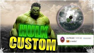 Hulk CUSTOM | Roblox | Anime Cross 2