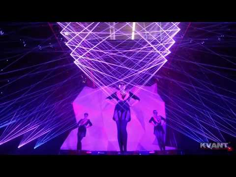 Kvant Laser Show - Prolight+Sound 2014, Frankfurt
