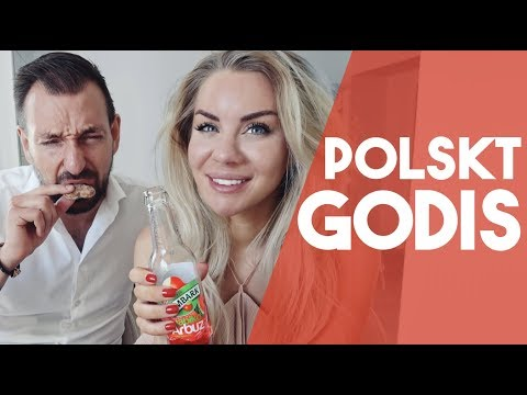 TESTAR POLSKT GODIS 🇵🇱