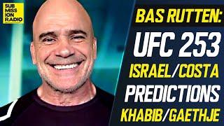 UFC 253: Bas Rutten Predicts Adesanya/Costa, Gaethje's Leg Kicks vs. Khabib Nurmagomedov + more!
