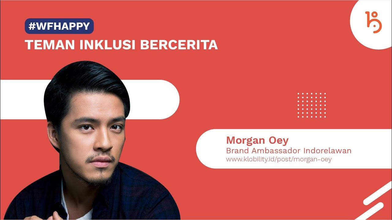 Morgan Oey, Brand Ambassador Indorelawan