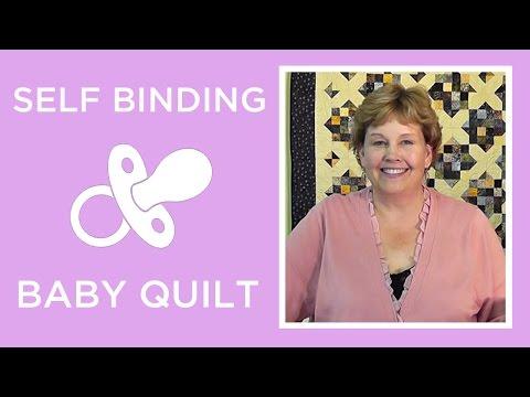 Make A Self Binding Baby Blanket With Jenny Doan Of Missouri Star (Instructional Video)