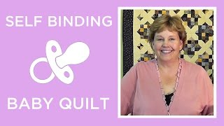The Self Binding Baby Blanket