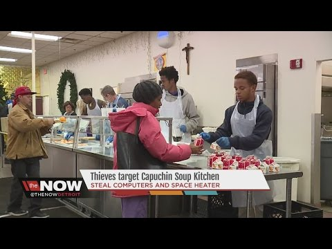 Thieves target Detroit's Capuchin soup kitchen