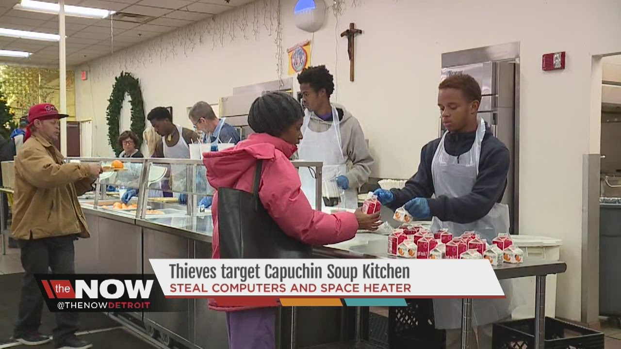 thieves target detroit's capuchin soup kitchen - youtube