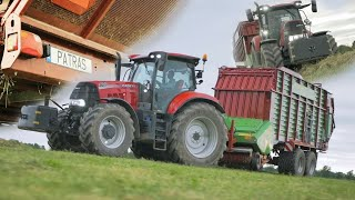 POWRÓT: CaseTeam/ Sianokosy 2020 Nowy nabytek Strautmann 2xCase/Mirtrans Grass Silage