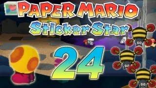 Let's Play Paper Mario Sticker Star Part 24: World 3-8 Ästelpfad & 3-3 2. Secret Exit
