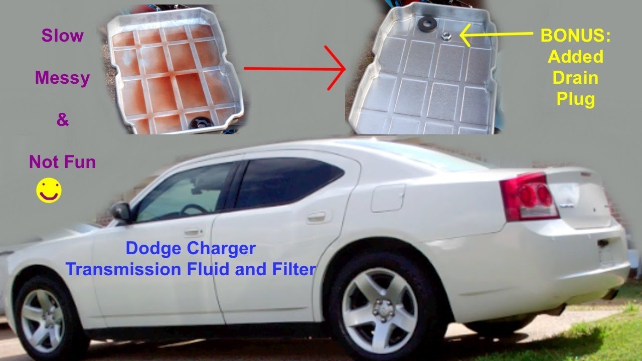 small resolution of dodge charger automatic transmission fluid change