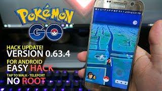 Video Pokemon GO 0.63.4 Hack Android! TERBARU, No ROOT! Tap to Walk! download MP3, 3GP, MP4, WEBM, AVI, FLV Februari 2018