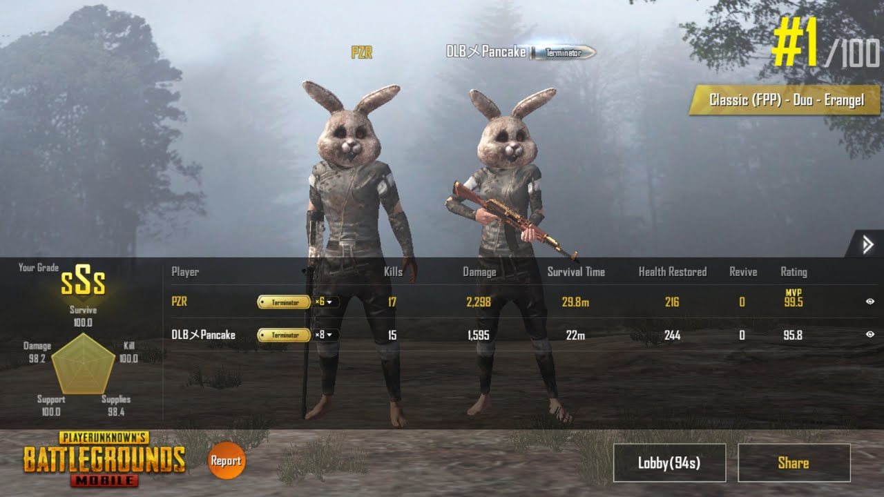 Pubg Wallpaper New Season: NEW PUBG DUO FPP WORLD RECORD ASIA!!!(PUBG Mobile Season 2