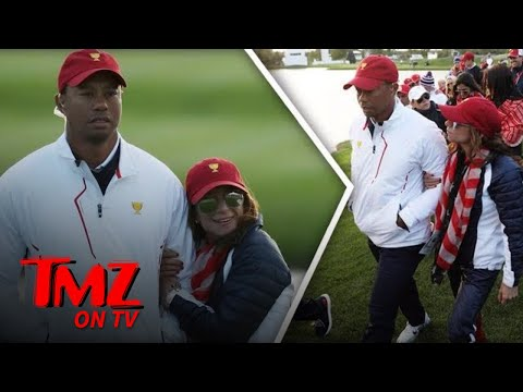 Tiger Woods Flaunts New Chick at President's Cup | TMZ TV