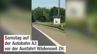 Halt auf Pannenstreifen: Geile Panne auf der Autobahn A3