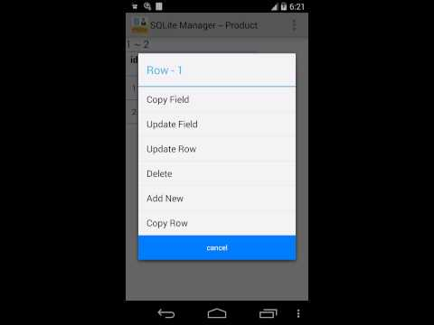 SQLite Manager - Apps on Google Play
