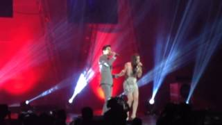 Christian Bautista and Rachelle Ann Go ( Yahoo OMG Awards 2