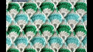 УЗОРЫ КРЮЧКОМ - видео-уроки - 2018 / CROCHET PATTERNS - video tutorials / Häkelanleitungen