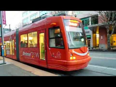 South Lake Union Trolley Seattle Washington