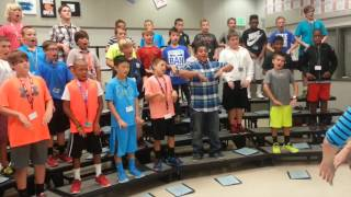 "InspireChoir Rehearsal, Harpool MS Men's Choirs ""Where are the Wild Things NOW?"""