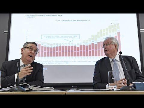 Aéroport de Québec: Un consultant conclut à une saine gestion